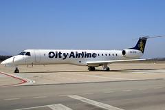 City Airline ERJ-145MP PH-RXB GRO 30/01/2007
