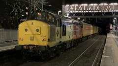 37254 TNT 9714 on 1Q43 Crewe C.S - Crewe C.S at Cheadle Hulme 26/10/2021