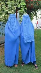 Women wearing burqa in Kabul