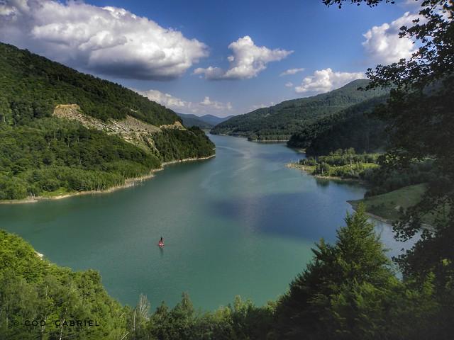 Siriu reservoir, Buzău county, Romania