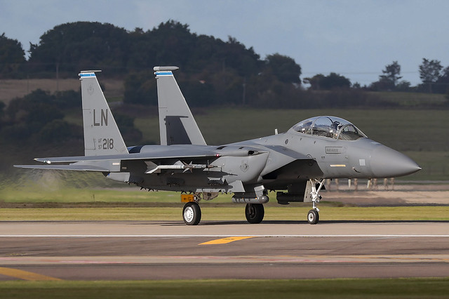 Boeing F-15E Strike Eagle 97-0218 'LN' 492nd Fighter Squadron / 48th Fighter Wing
