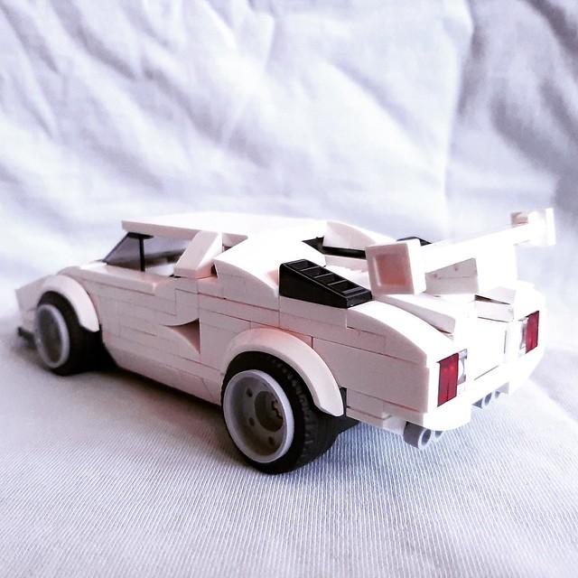 MOC Lego Lamborghini countach