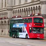 First Aberdeen 38218 (SN09CCV) - route 2 - Castle Street, Aberdeen