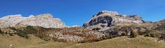 Panorámica desde el refugio de Lizara, valle de Aragües del Puerto