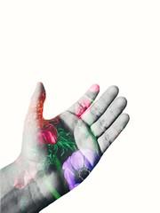 La mano de las gemas del infinito