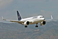 D-AINP Airbus A.320-271N Lufthansa Named Lörrach AGP 25-09-21
