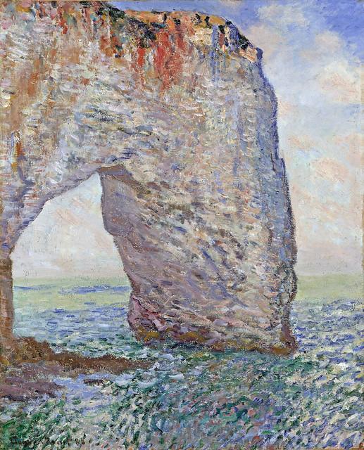 W 1052   Claude Monet - The Manneporte near Étretat [1985-86]