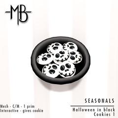 Halloween cookies 1 w