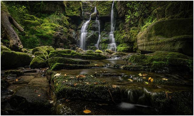 Clydach Gorge Waterfall