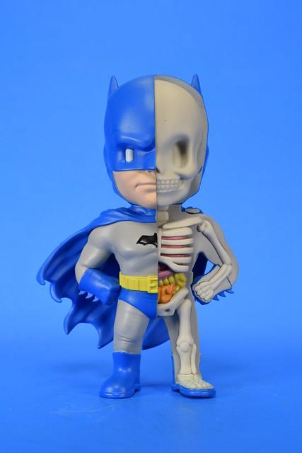 Xxray Golden Age Batman Dissected Vinyl Art Figure by Mighty Jaxx