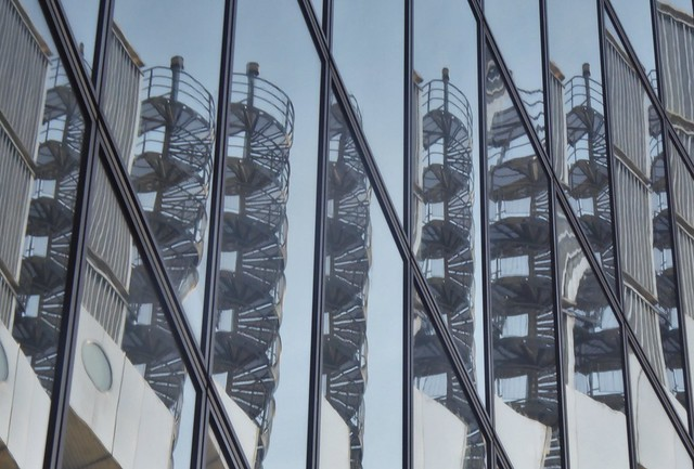Spiral Staircase, Lloyds Building, City of London
