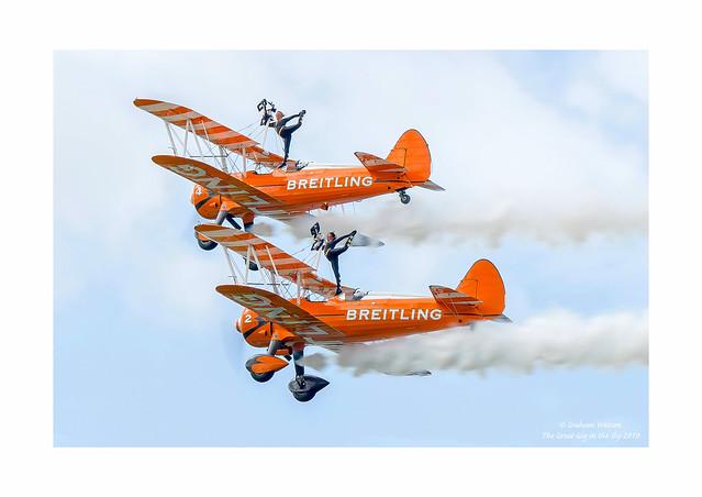 Boeing-Stearman wing walkers