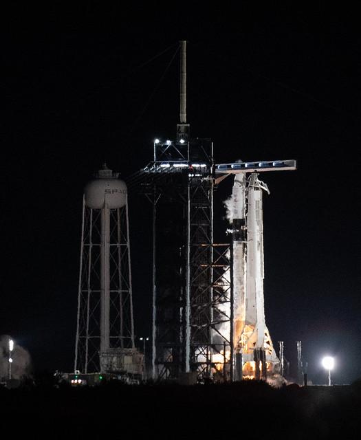 SpaceX Crew-3 Static Fire (NHQ202110280003)