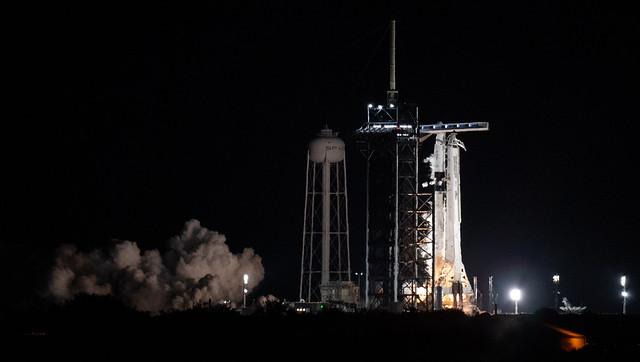 SpaceX Crew-3 Static Fire (NHQ202110280004)