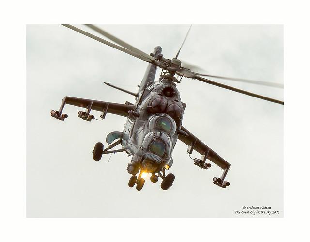 Mil Mi-24V Hind E 3366 - Alien Tiger - 221 vrtulníková