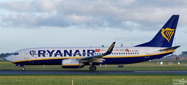 Ryanair 🇮🇪 Boeing 737-800 EI-DWT
