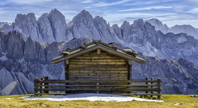 Dolomites...Gablerbiwak...
