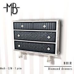 Diamond drawers w