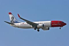 LN-ENR Boeing 737-800 Norwegian Air Shuttle Jan Baalstrud CS AGP 25-09-21