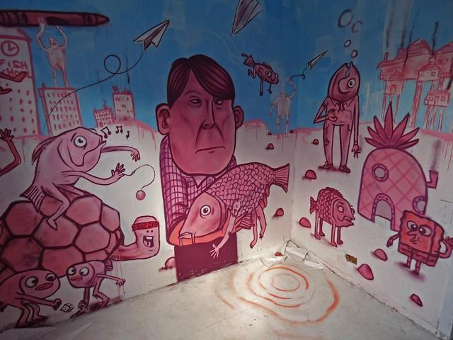 Lurcy Lévis - Street art city