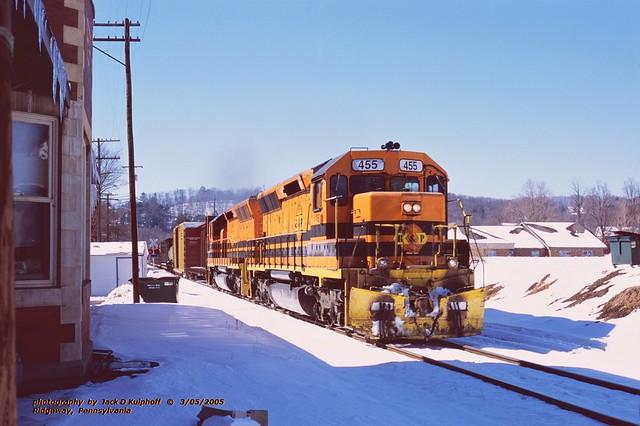 BP 455-458 n, Ridgeway, PA. 3-05-2005