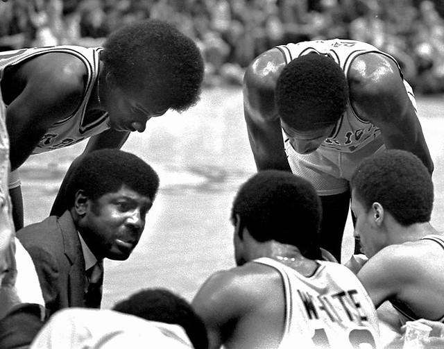 Warriors Head Coach Al Attles, Oakland California