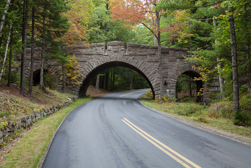 Carriage Road Bridge - Acadia National Park | by string_bass_dave