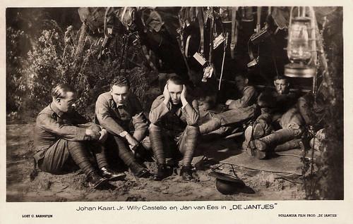 Johan Kaart jr., Willy Costello and Jan van Ees in De Jantjes (1934)