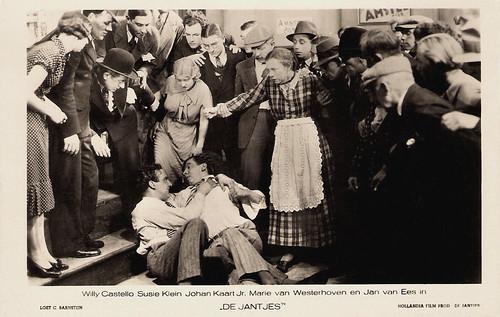 Willy Costello, Suzie Klein, Johan Kaart jr., Marie van Westerhoven and Jan van Ees in De Jantjes (1934)