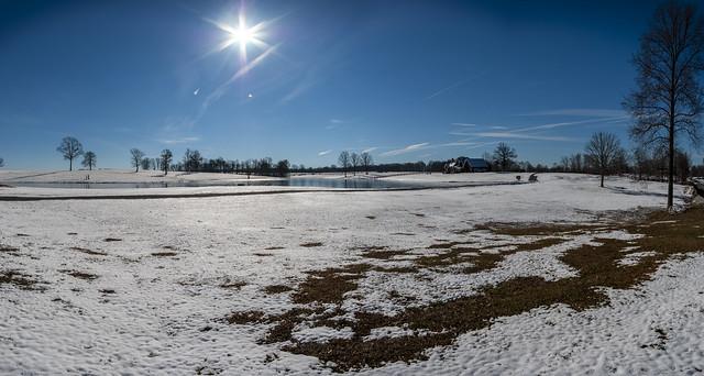 Snowy Pasture, White Co, TN