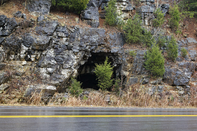 Red Rock Package Store Cave Entrance, Overton Co, TN