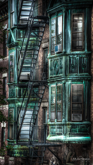 Corroded Windows, Beacon Hill, Boston
