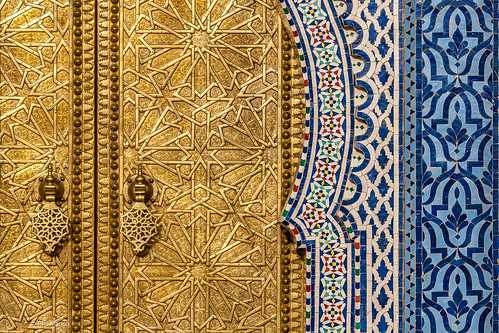 door - Royal Palace in Fes, Morocco | by Phil Marion (173 million views - THANKS)