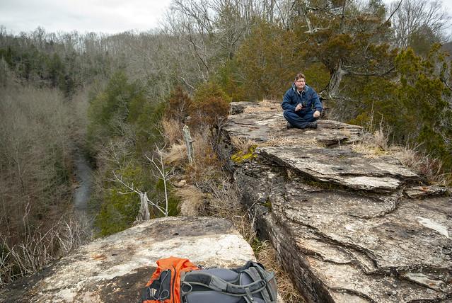 Aron Mooneyhan, Window Cliffs, Putnam Co, TN