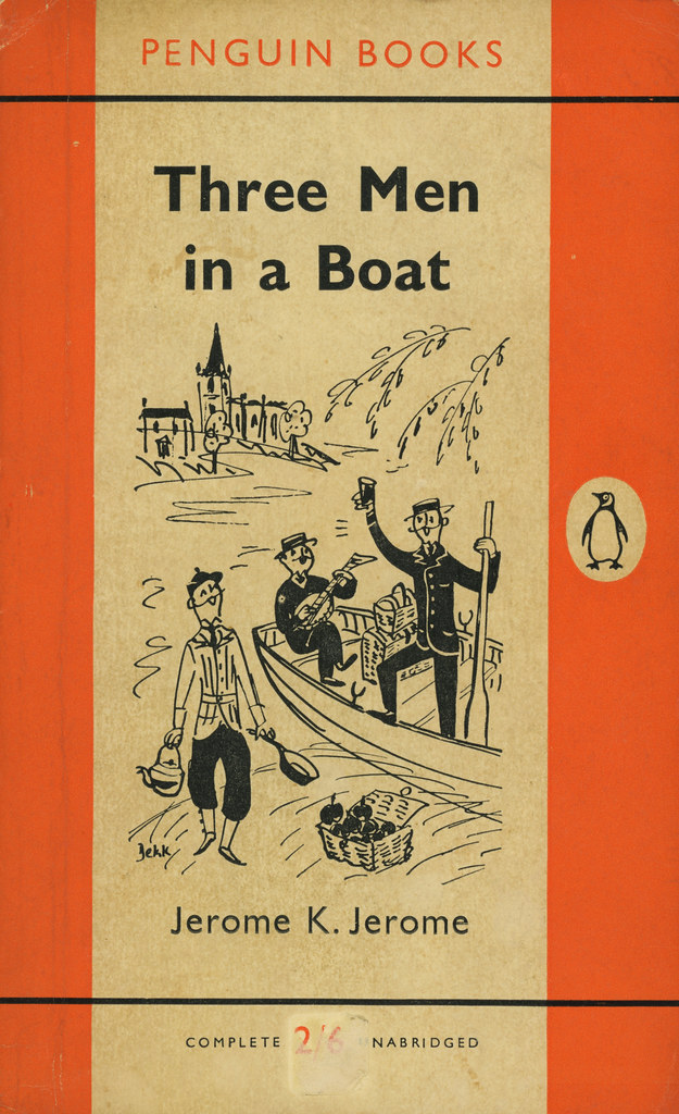 Penguin Books 1213 - Jerome K. Jerome - Three Men in a Boa… | Flickr