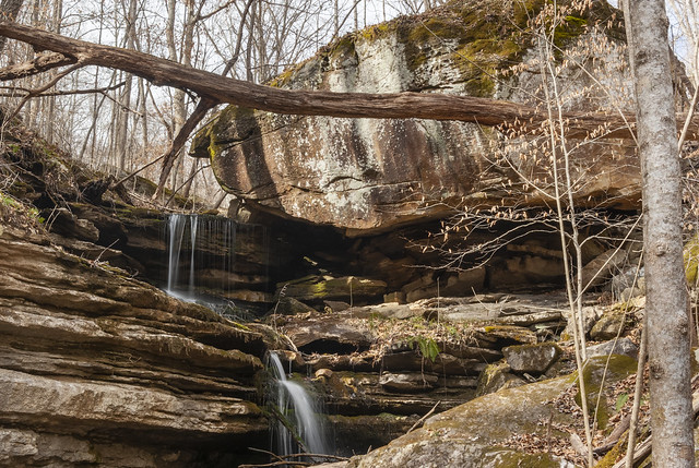 Unnamed waterfall, White County, Tennessee