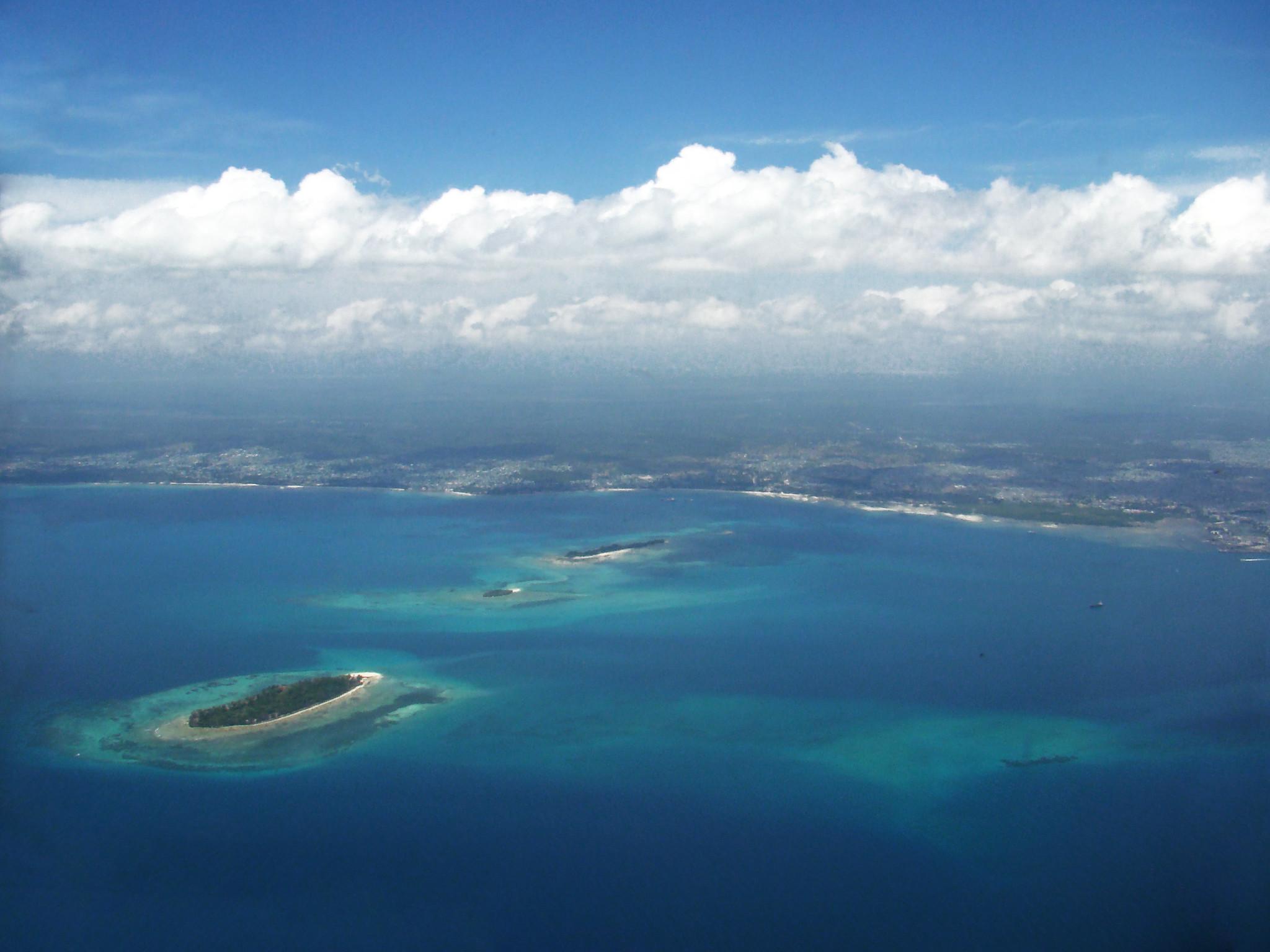archipiélago Islas Zanzibar desde el cielo Tanzania 04