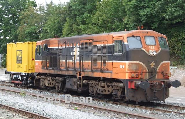 Irish Rail 168 in Mallow.