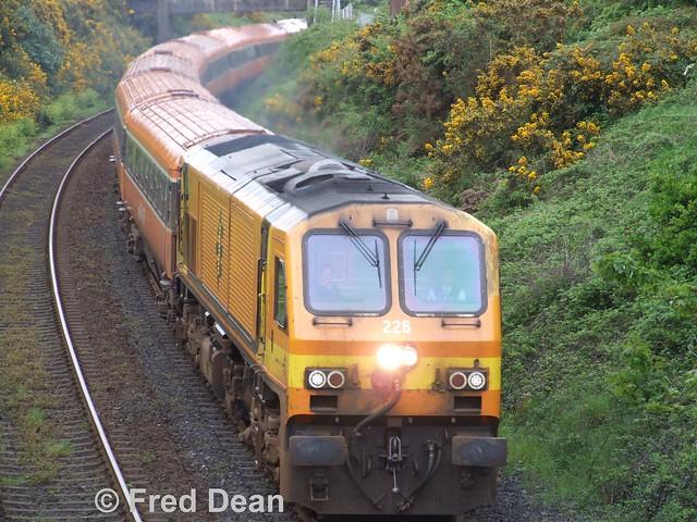 Irish Rail 226 at Kilbarry.