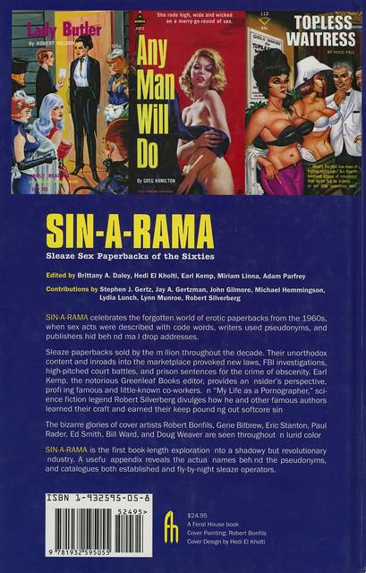 Feral Books - Brittany A Daley - Sin-A-Rama (back)
