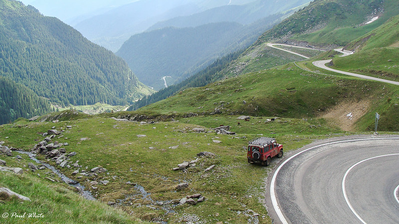 Driving the Transfagarasan Highway