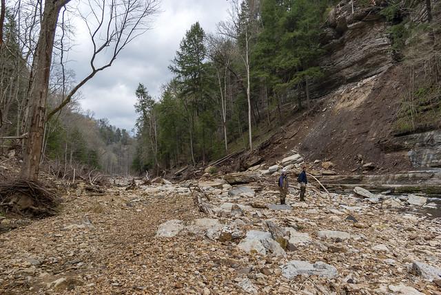 Landslide, Korey Harvey, Evan Hart, Blackburn Fork, Jackson County, Tennessee