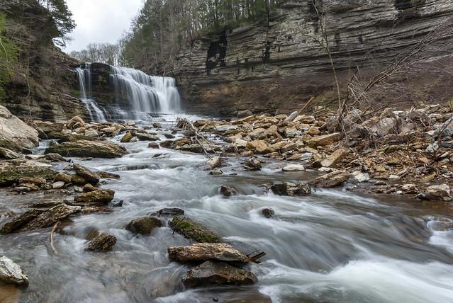 Cummins Falls, Blackburn Fork, Jackson County, Tennessee 21