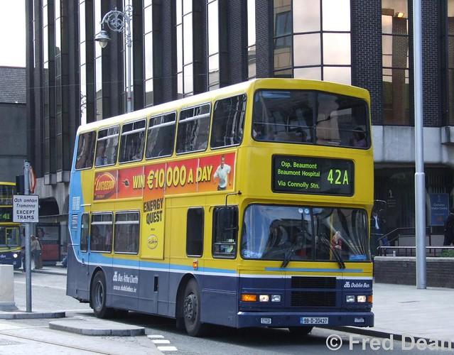 Dublin Bus RV427 (98D20427).