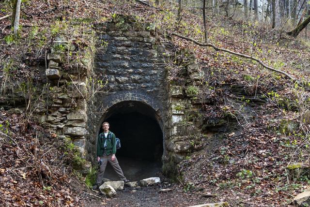 Richland Mine entrance, Darrell Harmon, Laurel Snow SNA, Rhea Co, TN