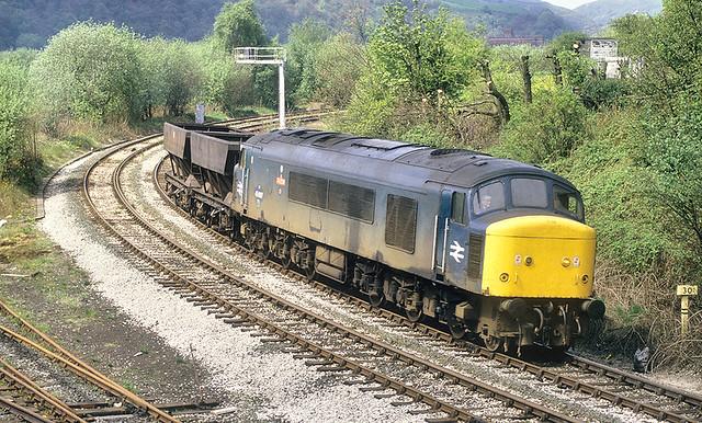 A Big Loco For A Small Train.