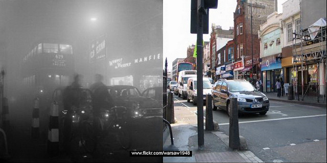 172b-A Foggy Day - then & now