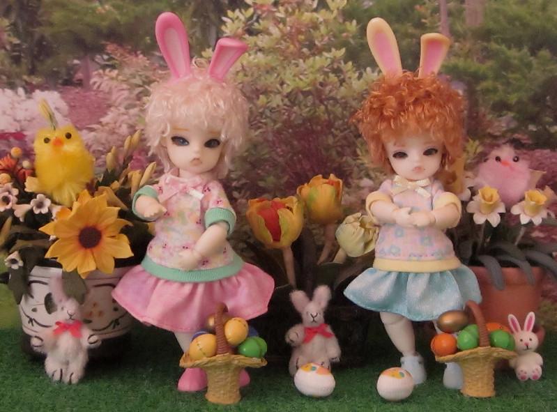 Easter bunny helpers