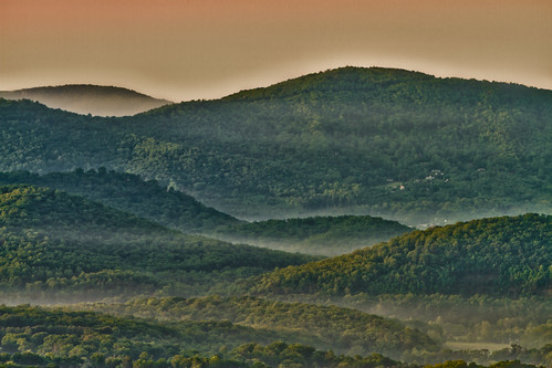 adobe asheville carolina dawn forest green hdr hills lightroom mountains nc north orange trees appalachian northcarolina