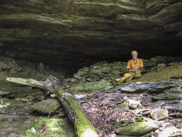 Entrance to Shiner's Wall Cave, Marion O. Smith, Dekalb Co, TN